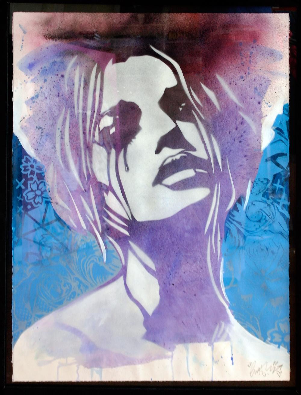 'Heartbreak'1, Origional Work, spray paint and acrylic on paper, £450 (framed) 012.jpg