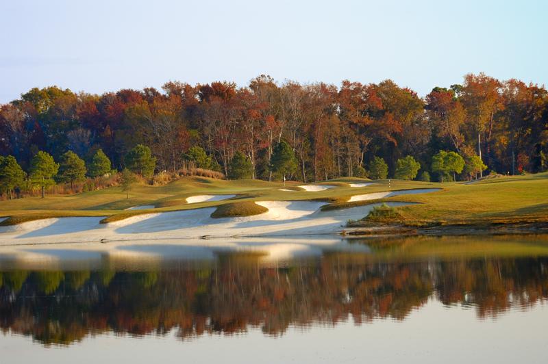 The golf course @ Bay Creek