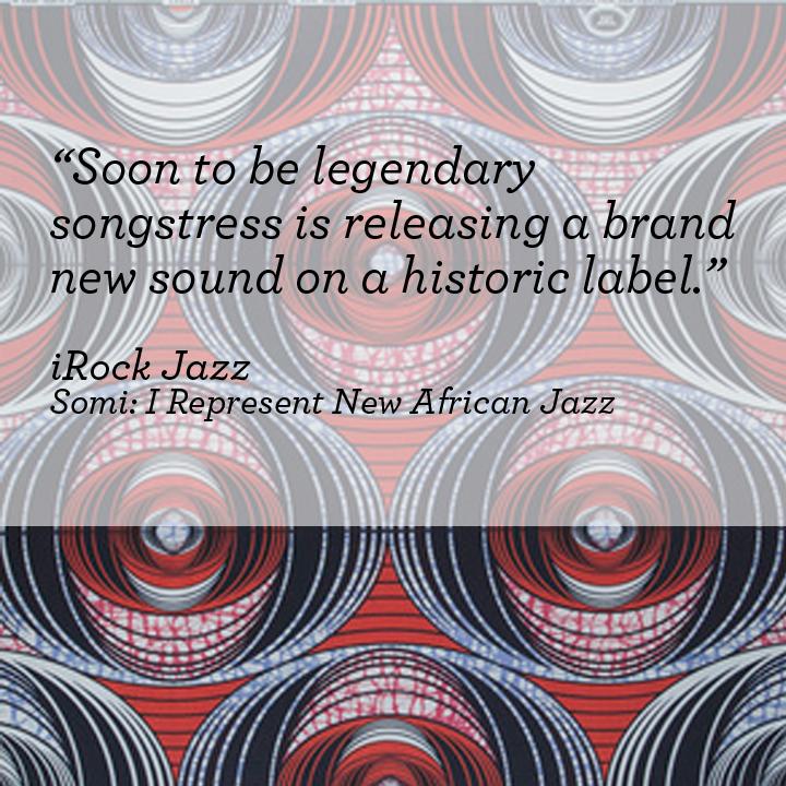iROCK JAZZ    Somi: I Represent New African Jazz