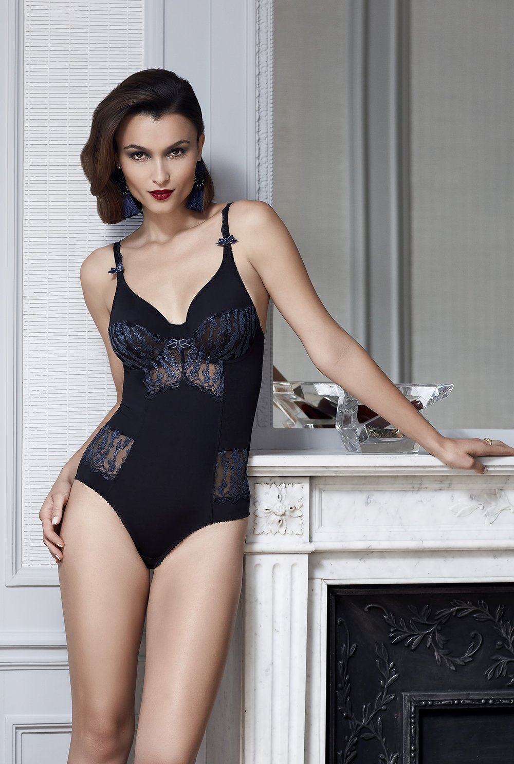 Passion Secrète   Body, sizes 90 to 105 b, c ; 85 to 105 d, e : $147