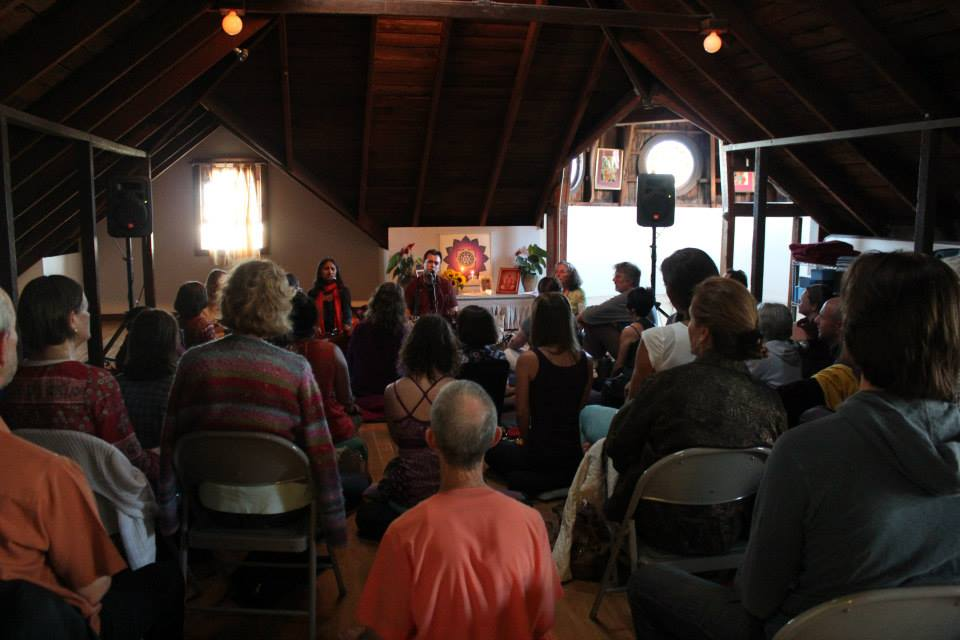 Kirtan at Integral Yoga Institute San Francisco
