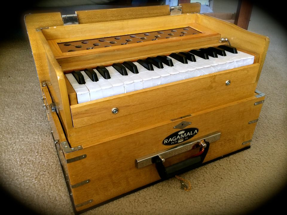 One of Ragamala's lovely harmoniums