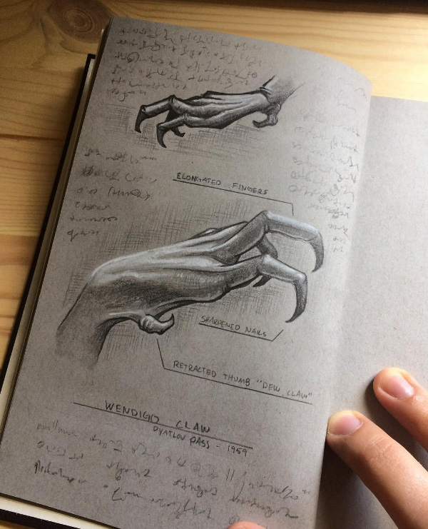 Wendigo hand concept