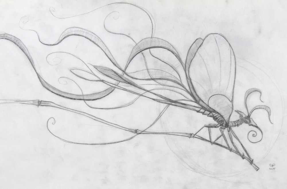 Original drawing for Aspect of Spring