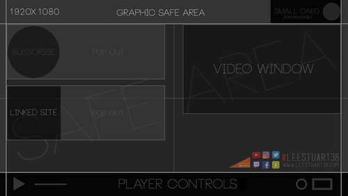 New youtube end screen template lee stuart download the free d file here pronofoot35fo Images