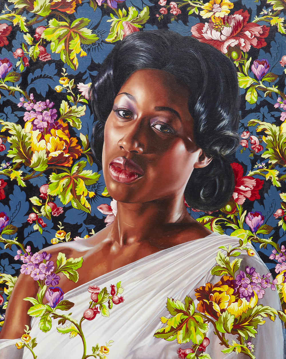 Economy of Grace; Artist: Kehinde Wiley; Model Candice Stevens