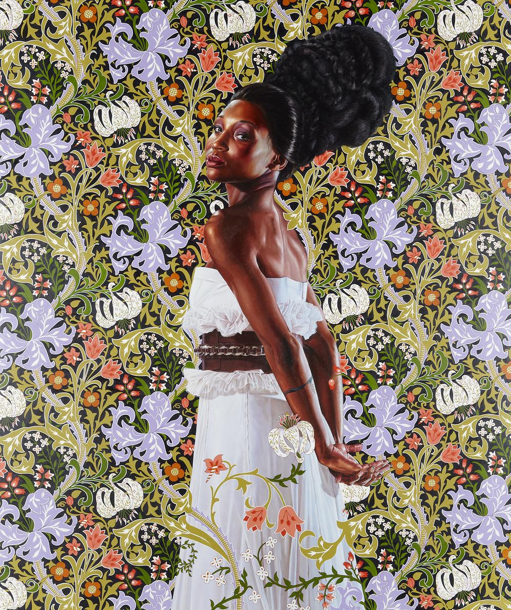 Economy of Grace; Aritst: Kehinde Wiley; Model: Shantavia Beale