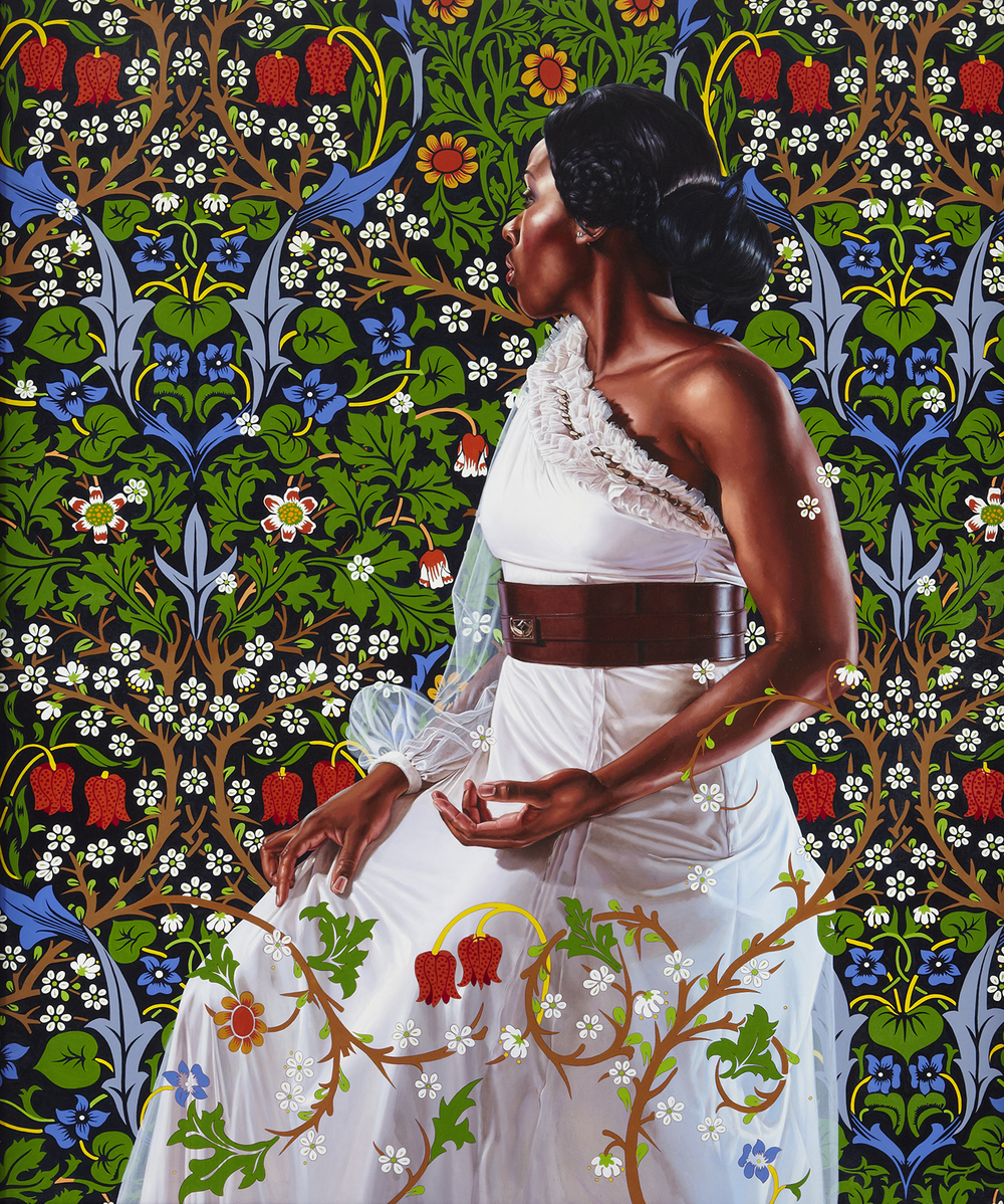 Economy of Grace; Artist: Kehinde Wiley; Model: Dacia Carter
