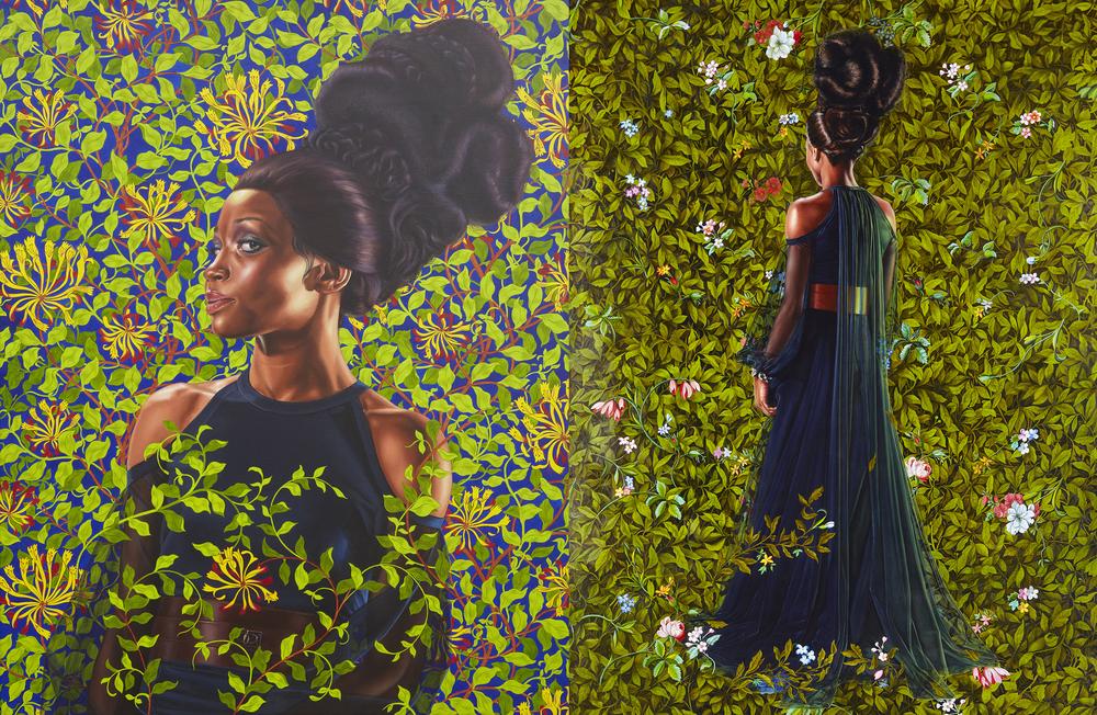 Economy of Grace; Artist: Kehinde Wiley; Model: Shantavia Beale