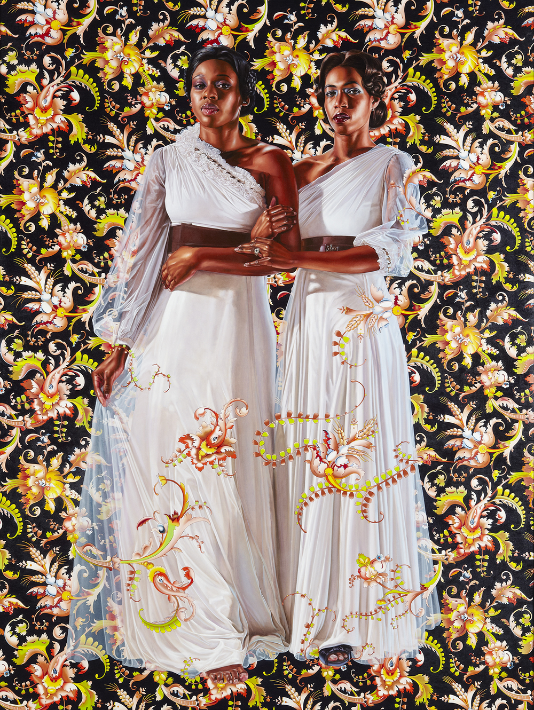 Economy of Grace; Artist: Kehinde Wiley; Models: Dacia Carter/Khalidiah Asante