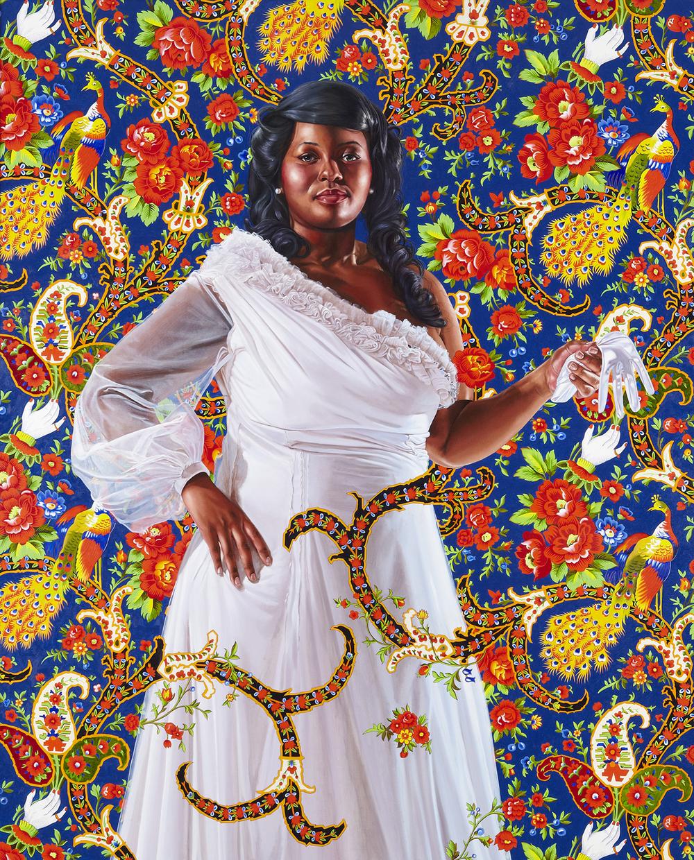 Economy of Grace; Artist: Kehinde Wiley; Model: Ena Johnson