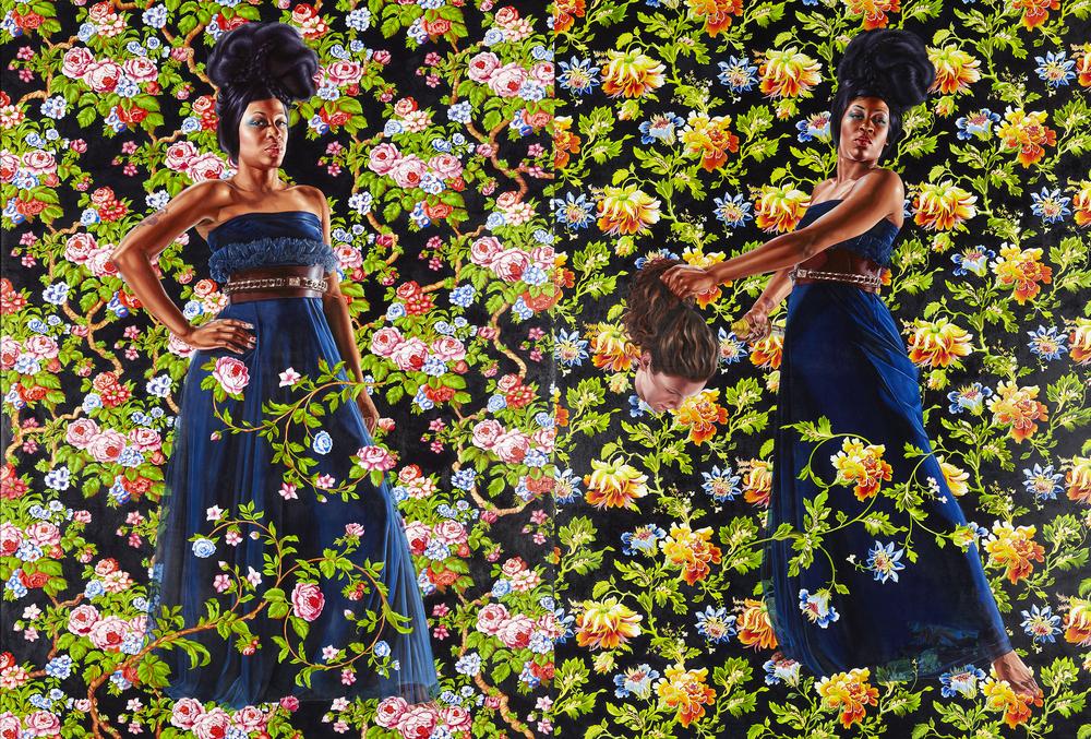 Economy of Grace; Artist: Kehinde Wiley; Model: Treisha Lowe