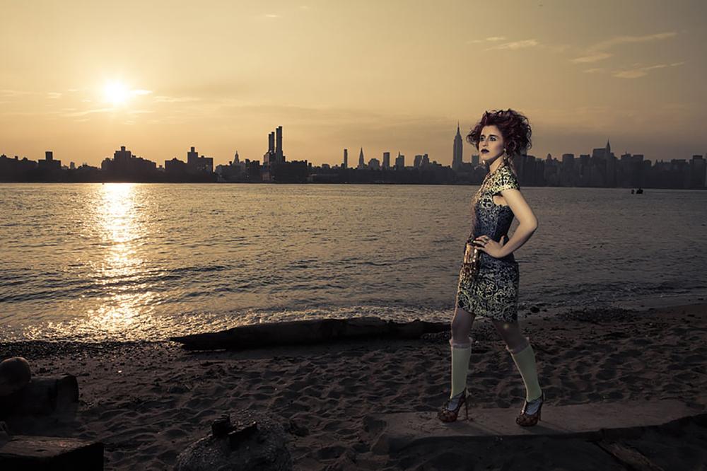 Promoshoot for Singer: Donna Pierrot; Stylist: K. Tyson Perez