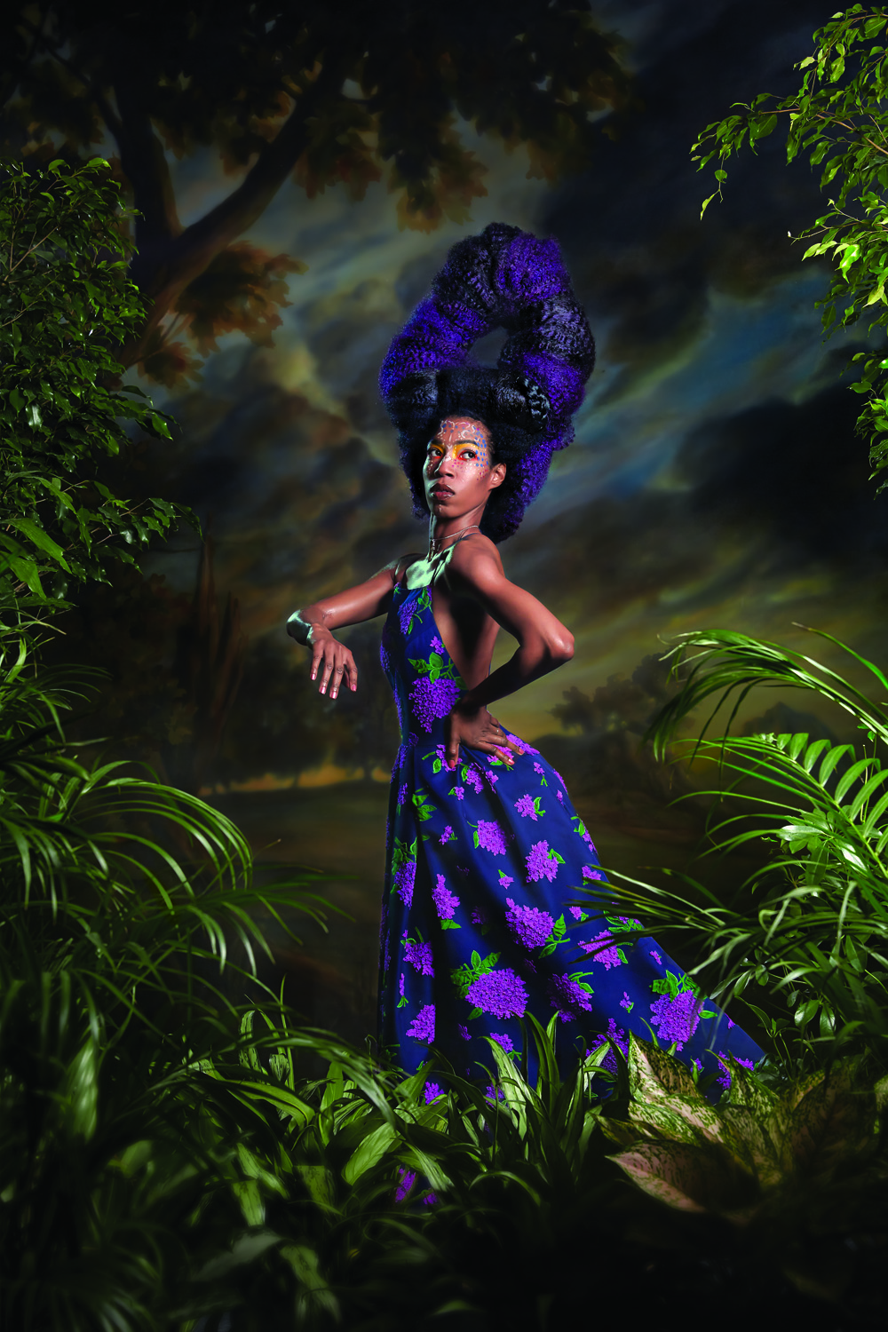 Magazine: New York Mag; Portfolio on Kehinde Wiley; Photographer: Norman Jean Roy; Stylist: Rebecca Ramsey; Model: Kalidiah