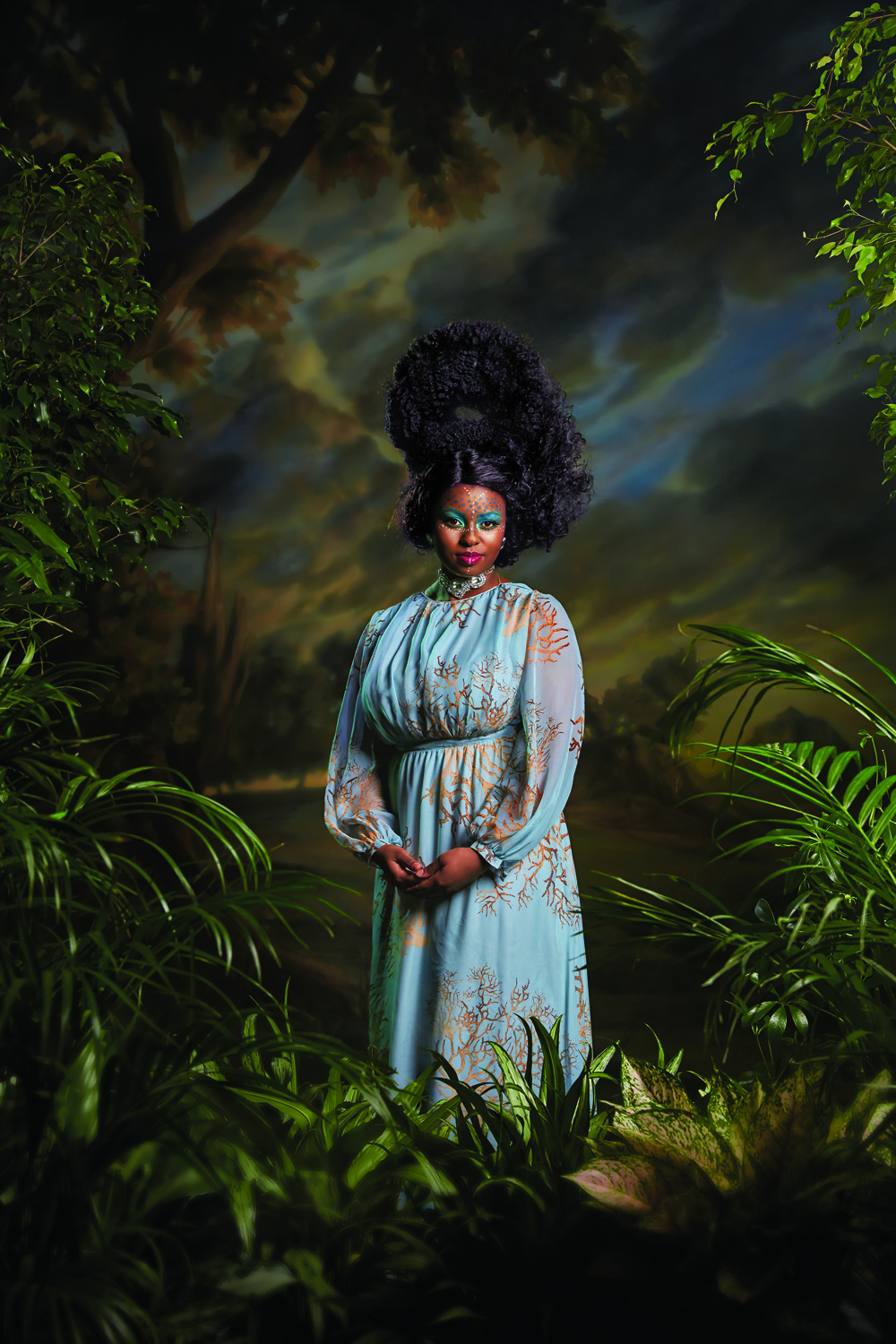 Magazine: New York Mag; Portfolio on Kehinde Wiley; Photographer: Norman Jean Roy; Stylist: Rebecca Ramsey; Model: Ena