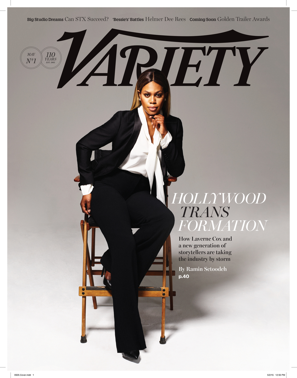 Variety Magazine; Photographer: Emily Hope; Styling: Christina Pacelli; Hair: Ursula Stephen