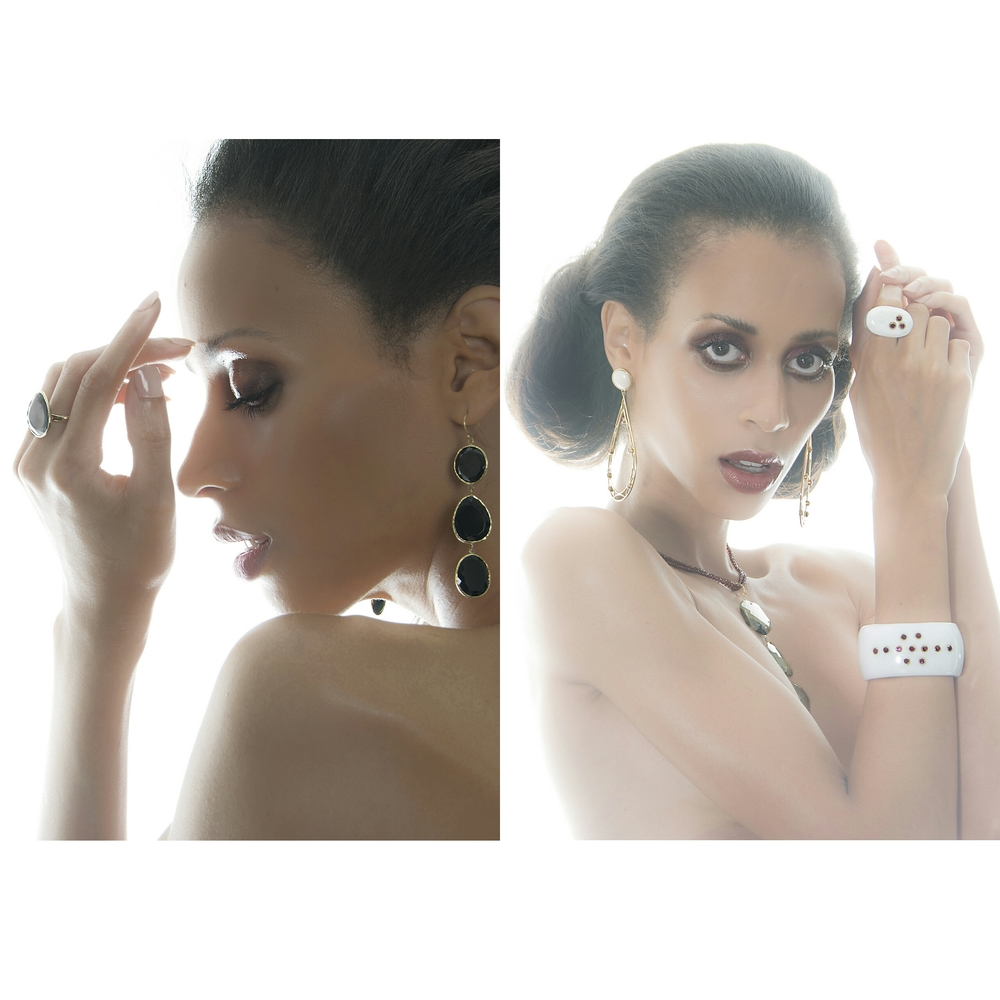 Model: Isis King; Jewelry by PEvanovaJewelry; Photography by Andrew Werner