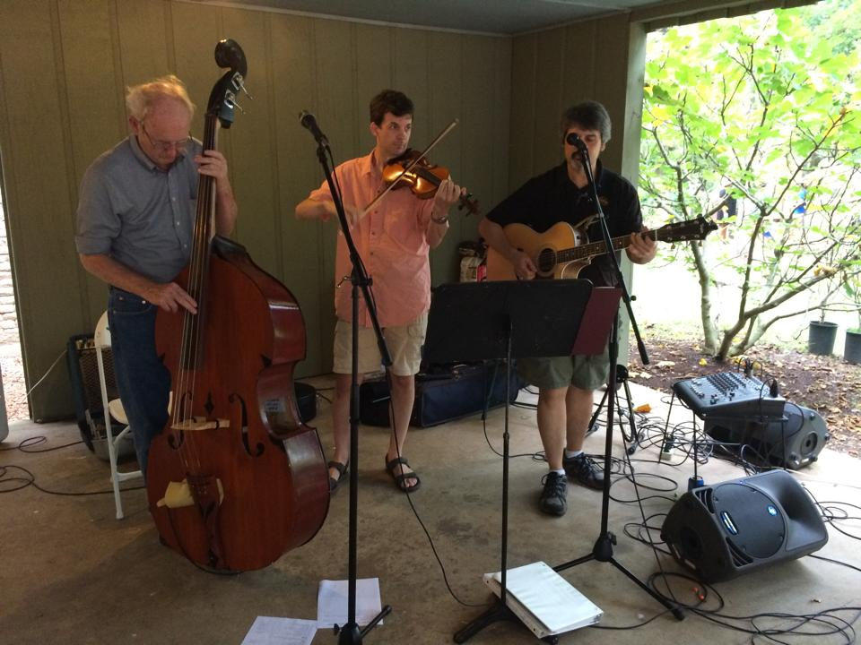 Mossy Back String Band playing at our Suicide Prevention Benefit