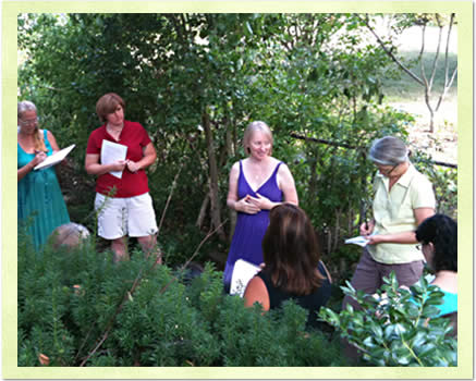 Southern Herbalist Phyllis D. Light presented on Appalachian Herbalism in September.