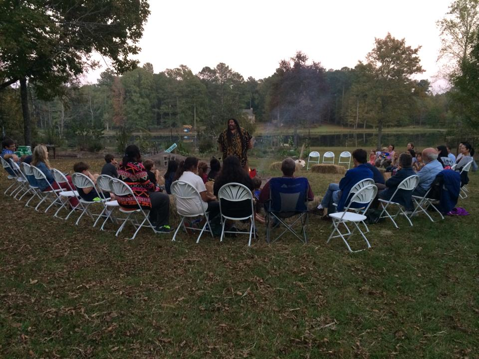 Another Membership Appreciation Event with Mississippi Arts Commission Storyteller, Lawrence Roberts.