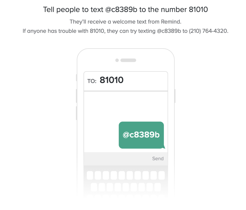 Text Messages - Receive text message reminders for upcoming events, no more than once a week. You may unsubscribe at any time. The Homestead does not have access to your phone number.Follow the link: https://www.remind.com/join/c8389b