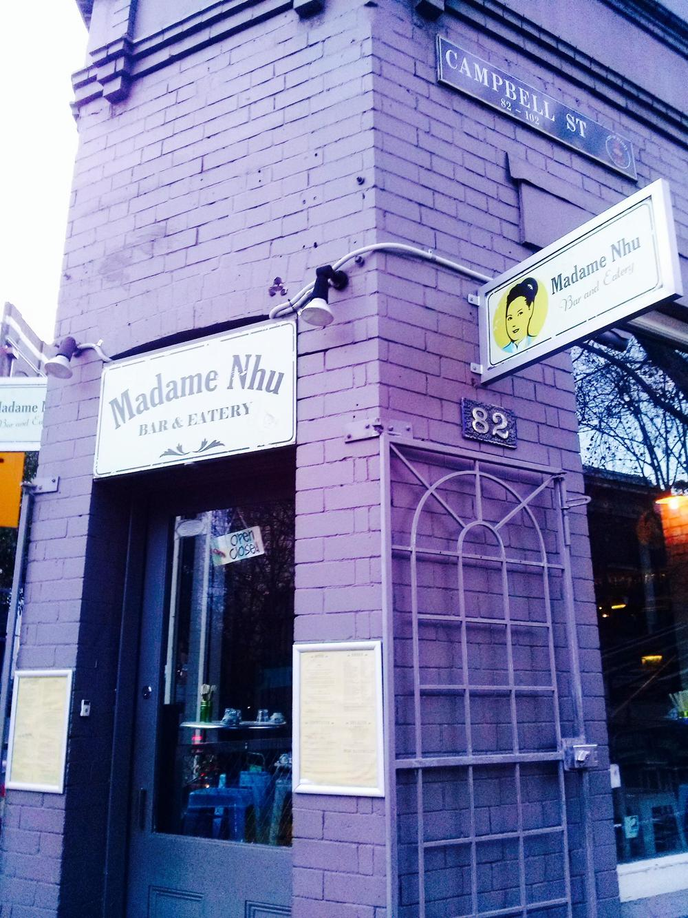 Madame Nhu's Frontage