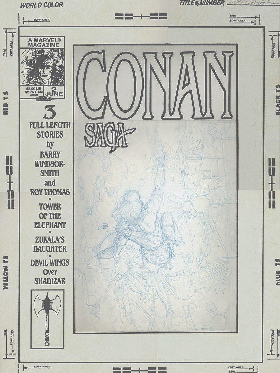 Conan Saga#2 Cover Prelims