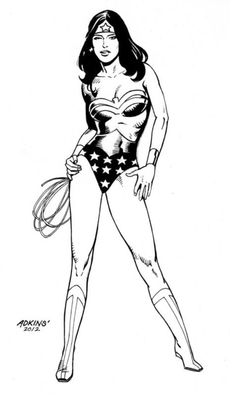 Wonder Woman - Dan Adkins