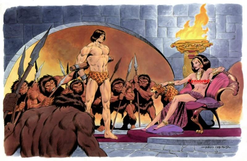 Tarzan JB & Bob Mcleod