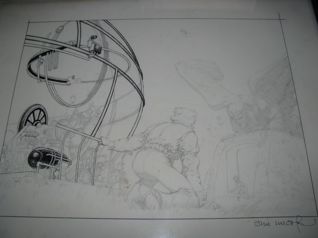 Berni Wrightson Pencils H.G.Wells Time Machine