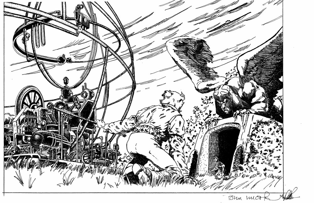 Wrightson DePues  H.G. Wells Time Machine
