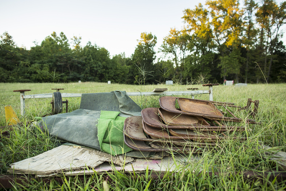 Items, Evergreen Cemetery, Richmond, VA, September 14, 2015