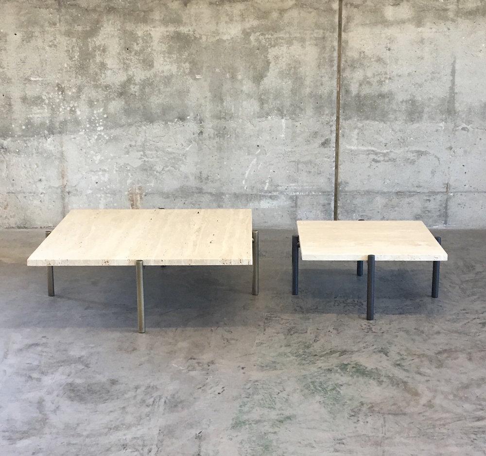 Tivoli coffee table + side table
