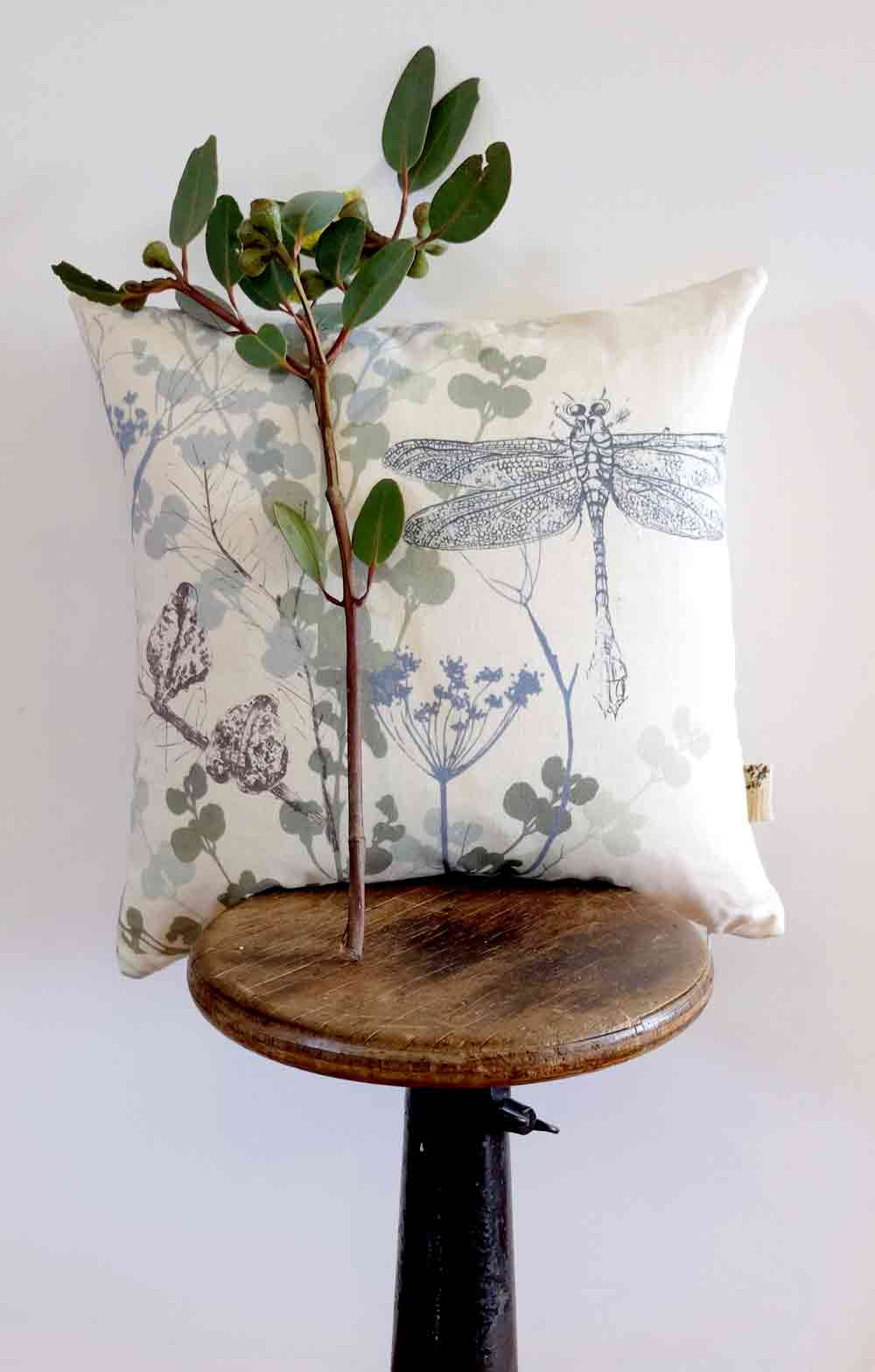 Dragonfly Designer Cushion