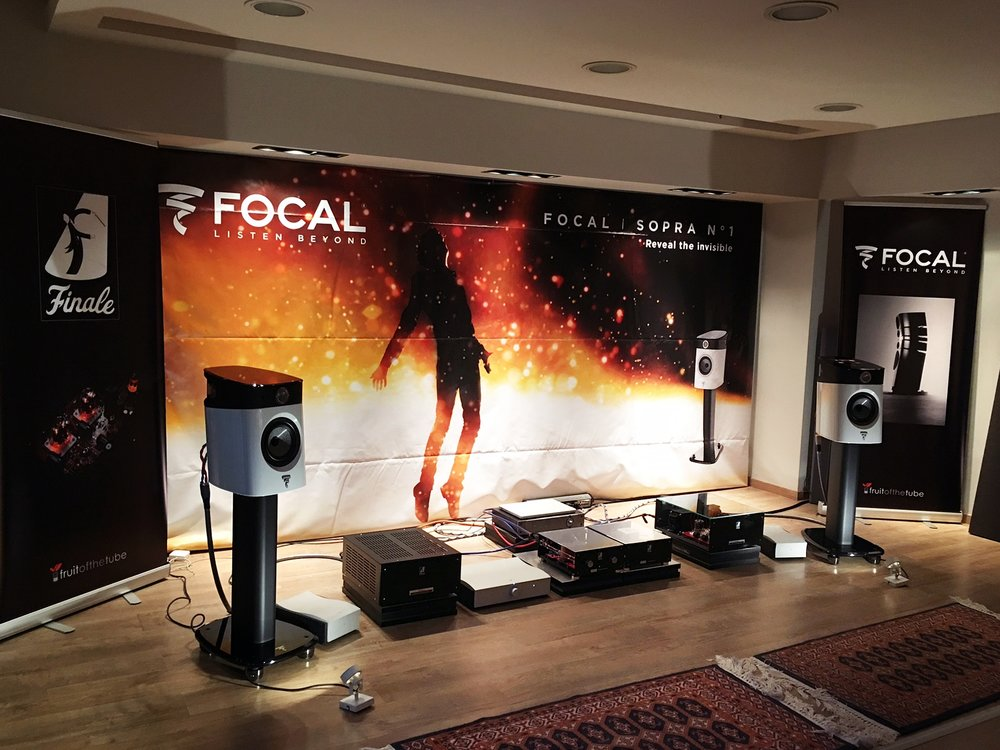 Galliard M Mono Blocks DEBUT 2017 at GREECE- with lots of success and many said to be the best room!