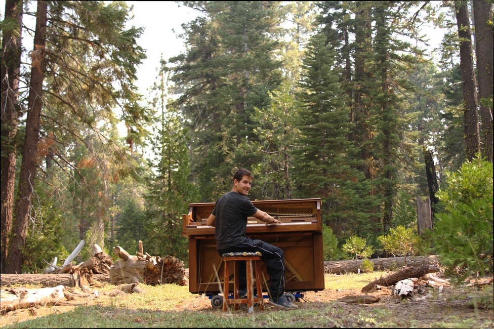 tahoe piano in nature outdoors