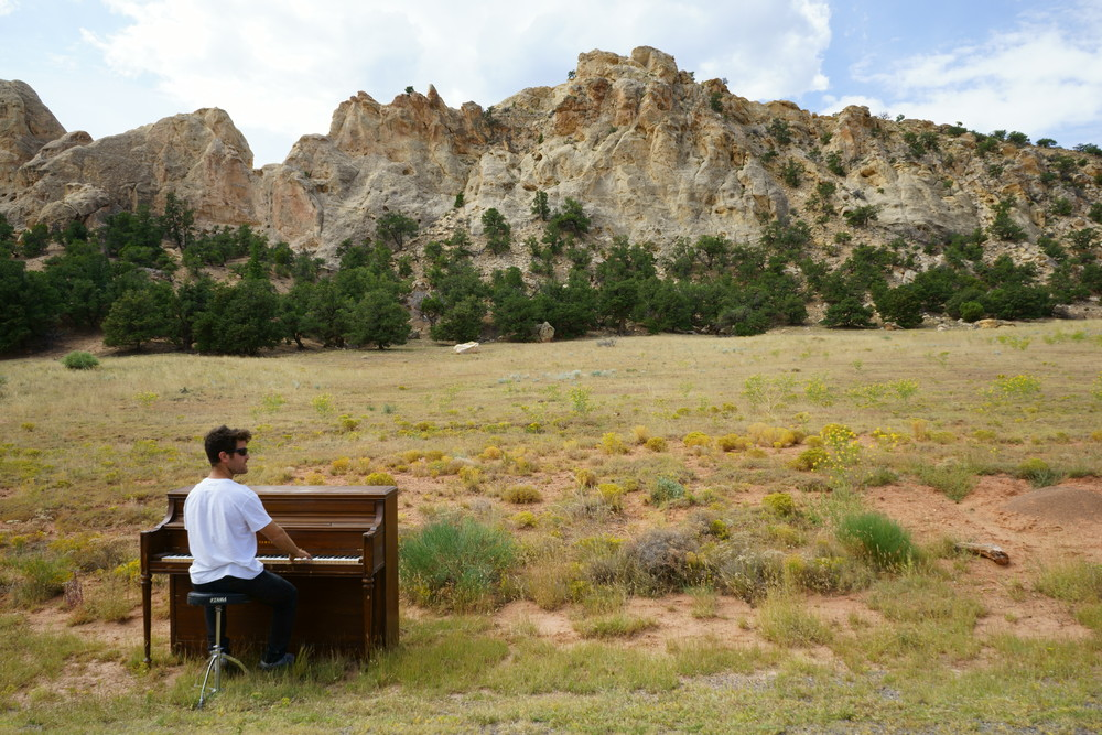 colorado utah piano in nature outdoors