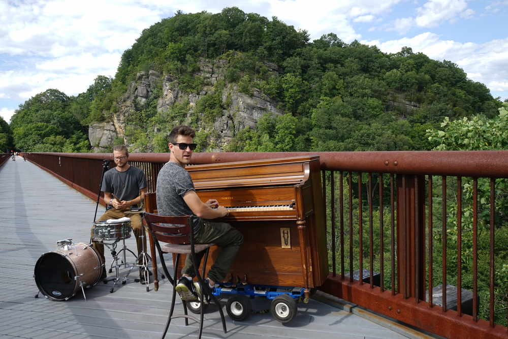rosendale outdoor piano nature