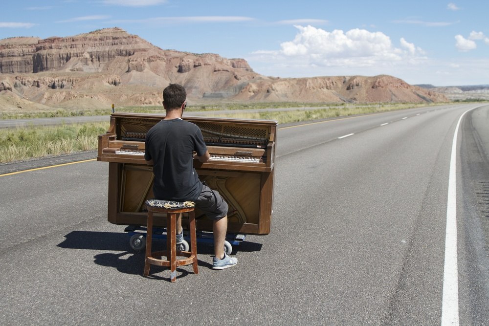 utah piano outdoors play me im yours