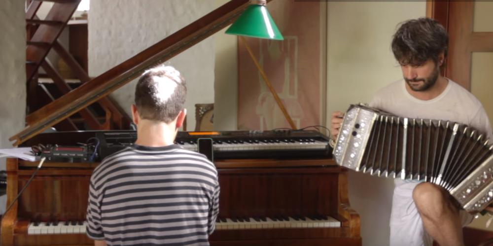 piano and bandoneon tango music argentina