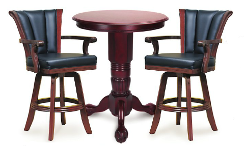 Bar Table And Chair furniture — america billiards | pool tables, game tables, services