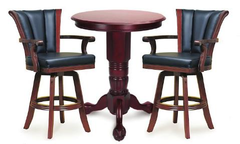 mahogany pub table u0026 chairs