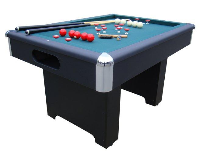 Slate Bumper Pool Table in Black