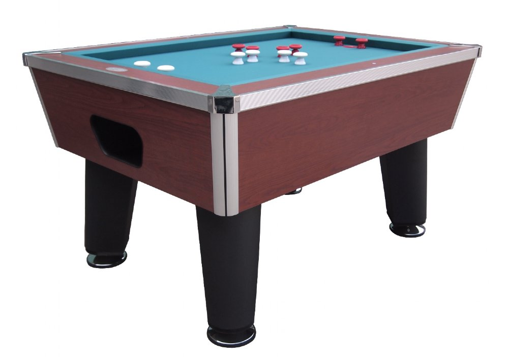 """""""The Brickell"""" Pro Slate Bumper Pool Table in Cherry"""