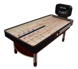 The Rebound Limited Shuffleboard Table with Electronic Scoreboard