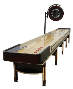 """The Pro"" Shuffleboard Table with Electronic Scoring"