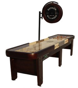 """The Retro"" Shuffleboard Table"