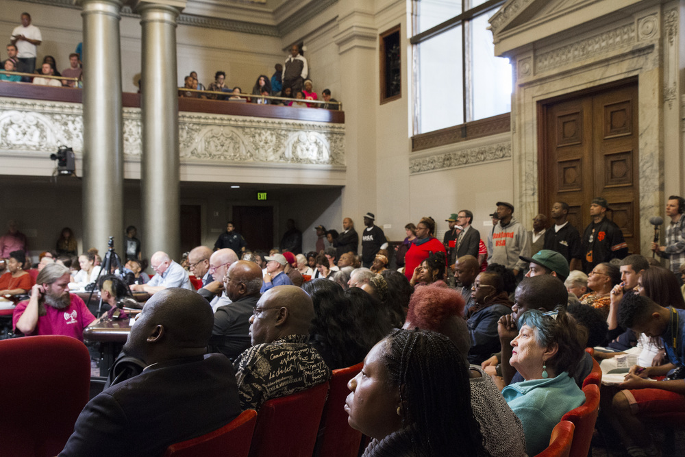 Black Lives Matter City Council Meeting - Oakland