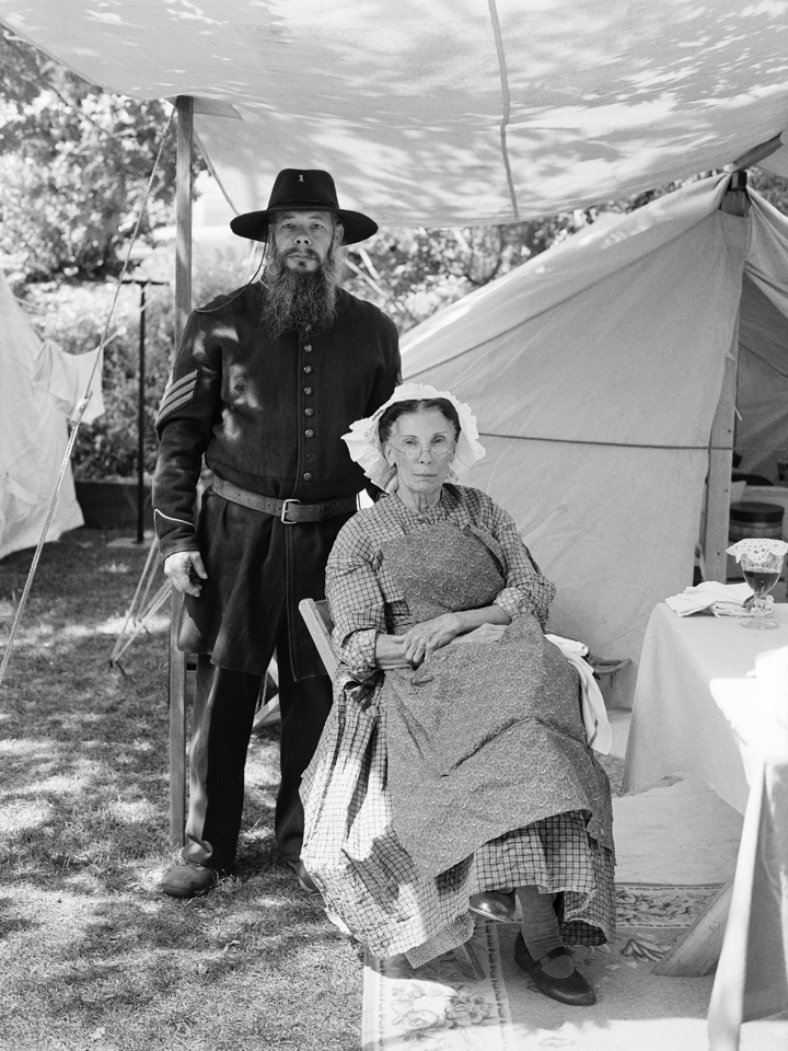 Comstock Civil War Reenactors, Educational Day, Virginia City