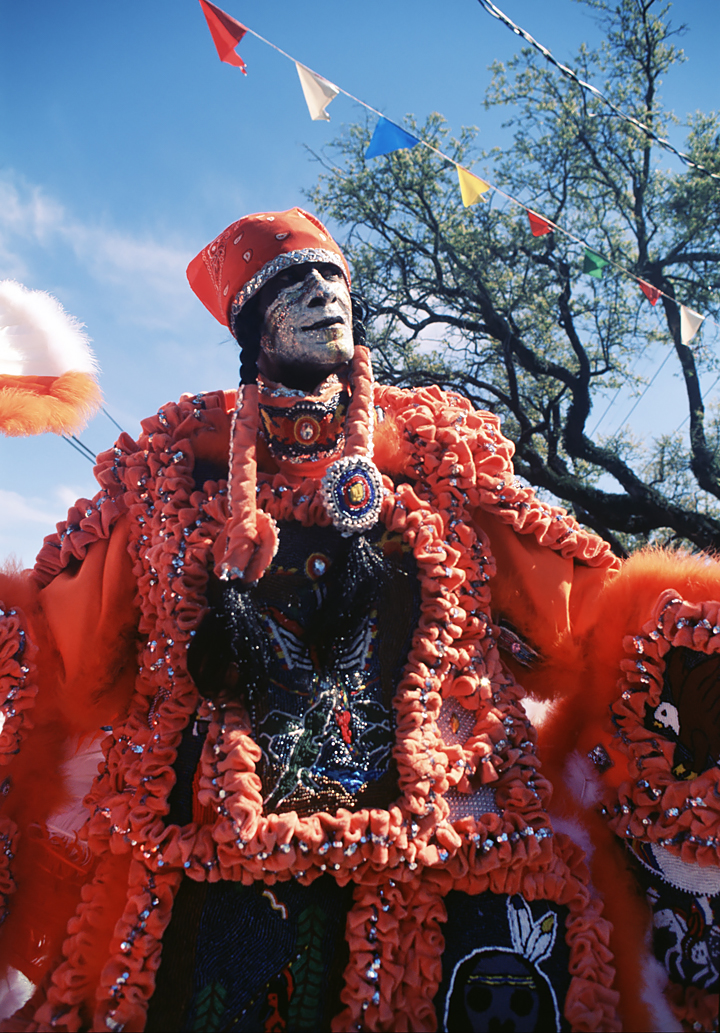 Mardi Gras Indians' Super Sunday, New Orleans